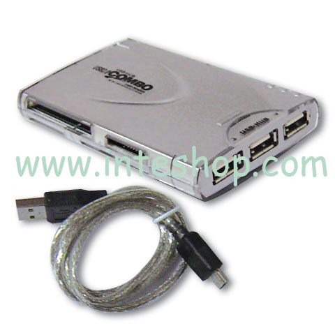 Picture of USB 2.0 Card Reader Combo