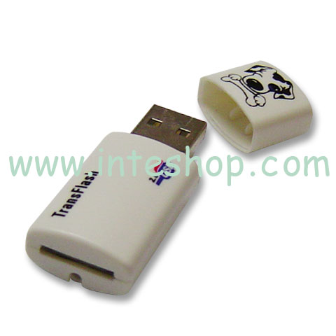 Picture of USB 2.0 Micro SD / MMC Reader / Writer