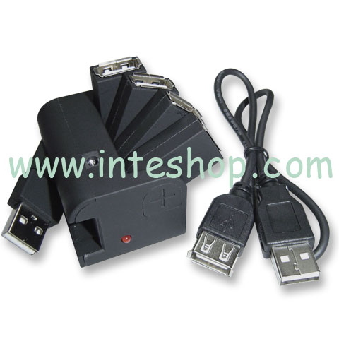 Picture of USB 2.0 Hub - 4 Ports / Rotatable