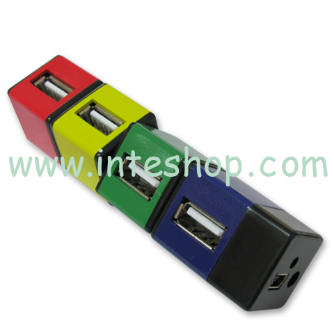 Picture of USB 2.0 Hub - 4 Ports / Cube