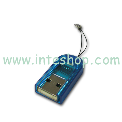 Picture of Micro SD / TF Card Reader - Handphone Strap