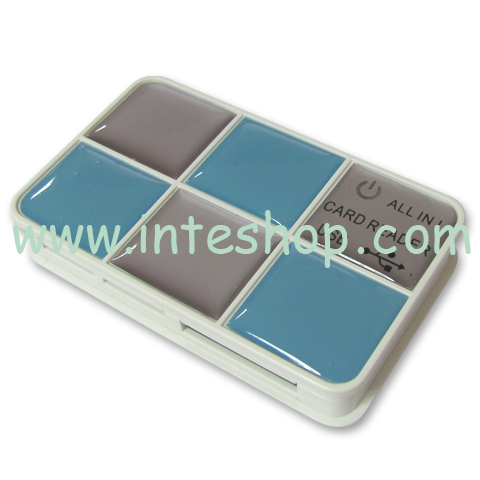 Picture of Mini USB 2.0 All in 1 Card Reader 2