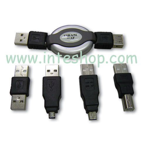 Picture of USB Travel Computer Cable - USB 1394