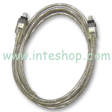 Picture of IEEE 1394 Cable - 4 Pin to 4 Pin