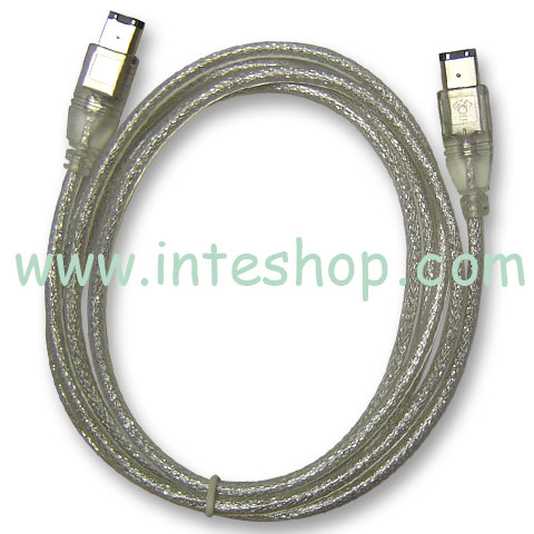 Picture of IEEE 1394 Cable - 6 Pin to 6 Pin