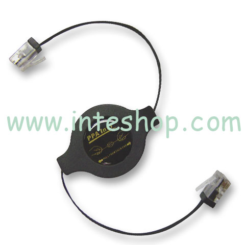 Picture of RJ-45 Network Cable - Retractable