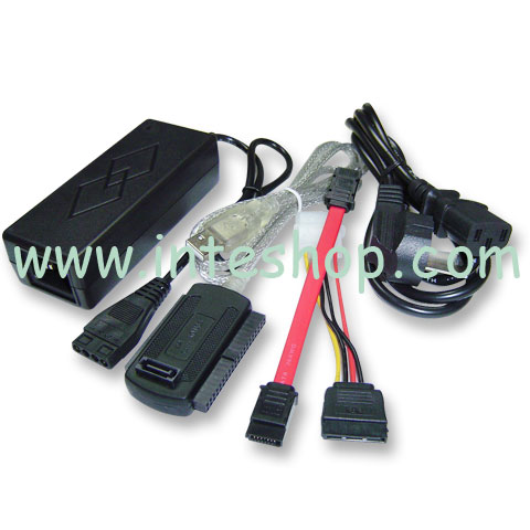 Picture of USB 2.0 to IDE / SATA Adaptor Set