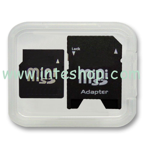 Picture of Mini SD Memory Card with Adaptor