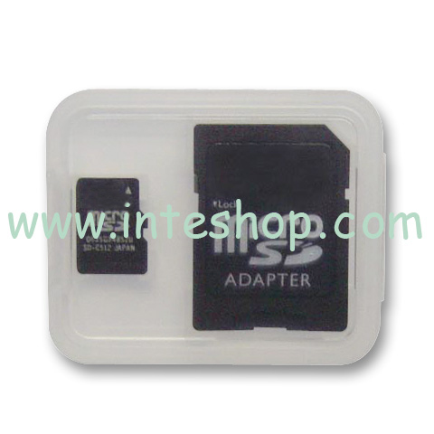 Picture of Micro SD / TF Memory Card with Adaptor