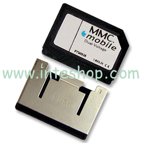 Picture of RS-MMC / MMC Mobile Memory Card with Adaptor