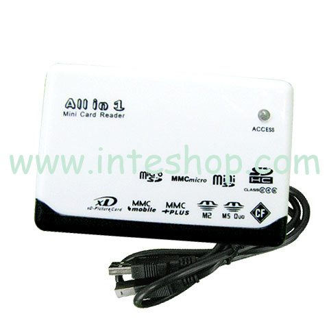 Picture of USB 2.0 Mini All in 1 Card Reader 4
