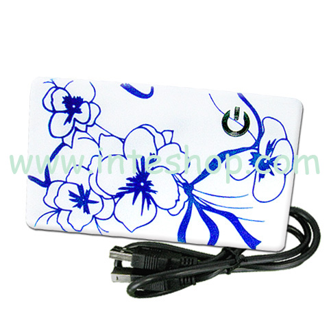 Picture of Mini USB 2.0 All in 1 Card Reader Printed Lovely Flower