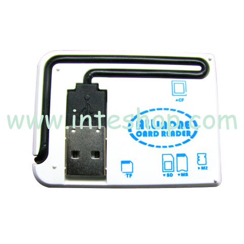 Picture of USB 2.0 Mini All in 1 Card Reader 10