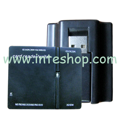 Picture of USB 2.0 Mini All in 1 Card Reader 11