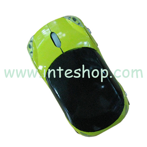 Picture of Wireless Ferrari Car Optical Mouse
