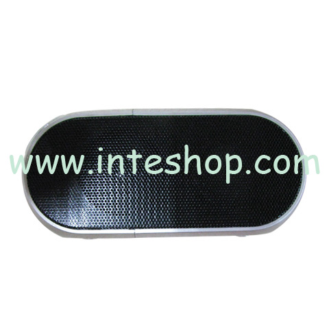 Picture of Mini Flashing Streamline Multifunctional Speaker / Torch / FM Radio – TF / USB Flash Drive