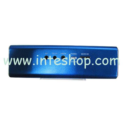 Picture of Mini Sports Cube Multifunctional Speaker / FM Radio – TF / USB Flash Drive