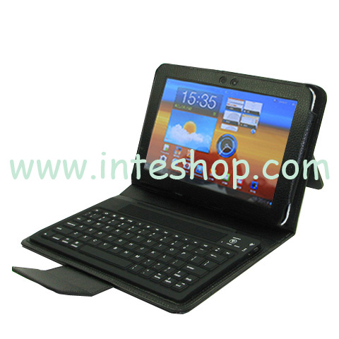 Picture of Bluetooth Keyboard Leather Case for Samsung Galaxy Tab 8.9