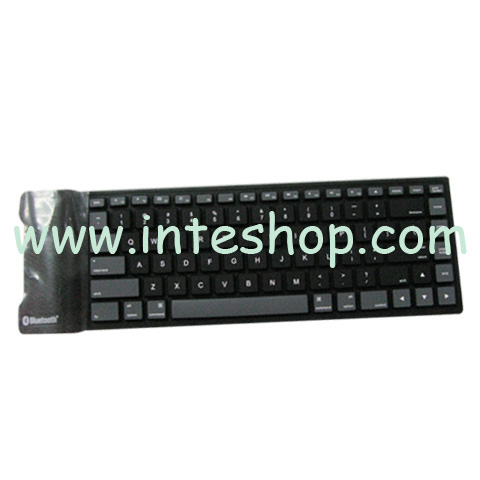 Picture of Mini Silicone Bluetooth Keyboard for iPad 2