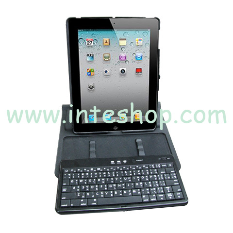 Picture of Bluetooth Keyboard and Swivel Stand for iPad 2
