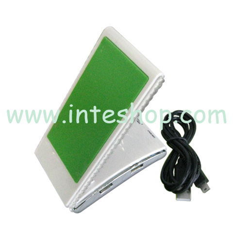 Picture of Foldable Cell Phone Holder USB 2.0 Hub