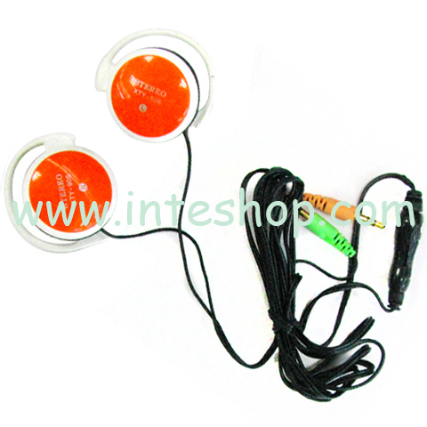 Picture of Clip Hook Earphone with Microphone 1