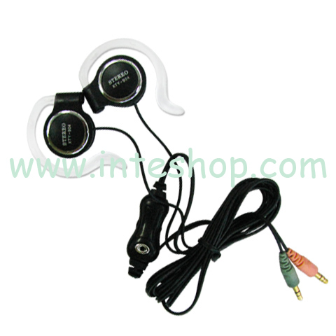 Picture of Clip Hook Earphone with Microphone 2