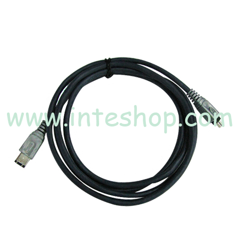 Picture of Sturdy IEEE 1394 Cable 6 Pin to 4 Pin