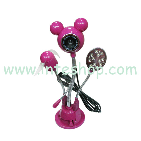 Picture of Mouse 8.0MP USB PC Camera / Fan / Lamp