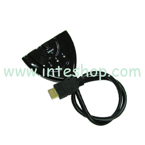 Picture of HDMI 3-in to 1-out Switch Cable