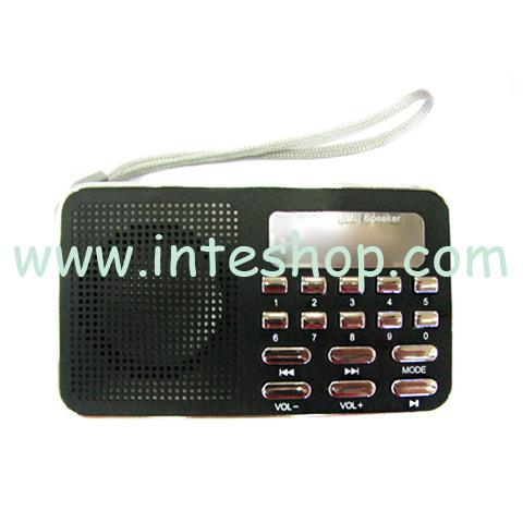 Picture of Lightweight Clip Multifunctional Speaker / FM Radio