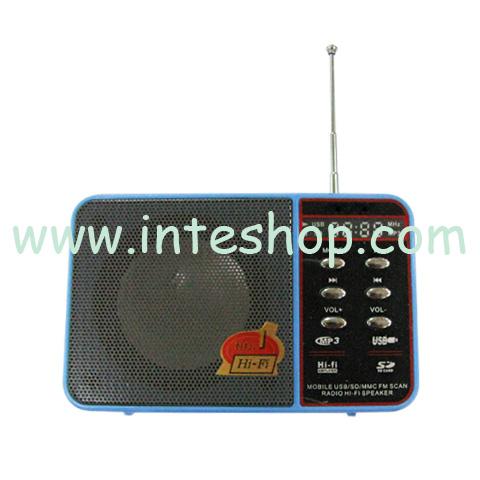 Picture of Retro Multifunctional Speaker / FM Radio