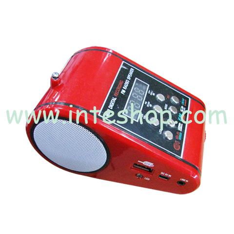 Picture of Card Terminal Shape Multifunctional Speaker / FM Radio