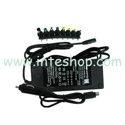 Picture of 100 W Universal Car and Home Power Adapter for Laptop