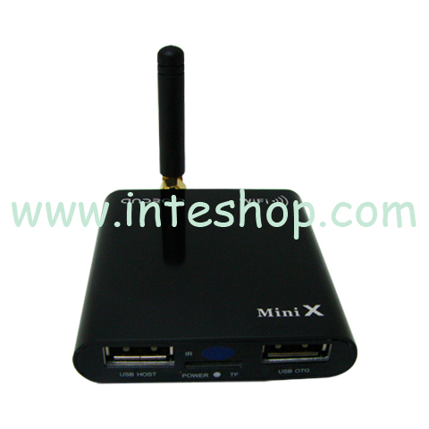 Picture of Metal 1080P Android 4.0 Wi-Fi Media Player / TV Box