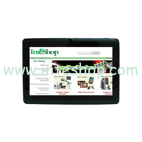 Picture of 7 inch 3G Android 4.0 Capacitive Tablet