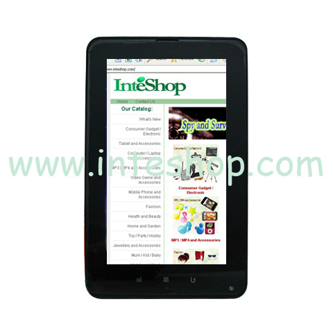 Picture of 7 inch 3G Android 4.0 Capacitive Tablet / Smartphone 2