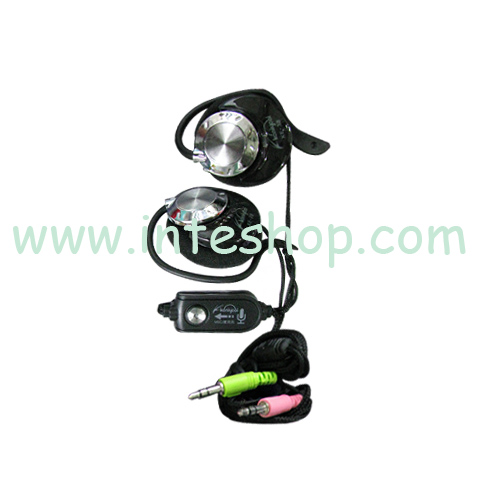 Picture of Clip Hook Earphone with Microphone 3