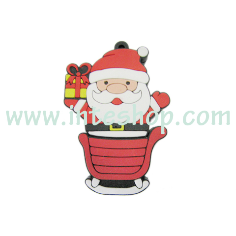 Picture of Christmas Santa USB Flash Drive